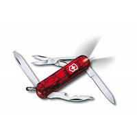 Нож Victorinox Manager Midnite 0.6366.T полупрозрачный красный, фото 1