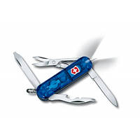 Нож Victorinox Manager Midnite 0.6366.T2 полупрозрачный синий, фото 1