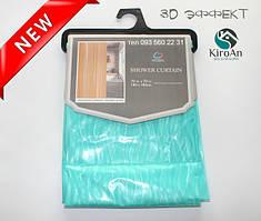 Виниловая занавеска для душа с эффектом 3Д Oumeiya Premium 180х180