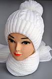 Универсальный зимний шарф на шею для женщин , фото 2