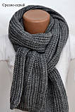 Универсальный зимний шарф на шею для женщин , фото 8