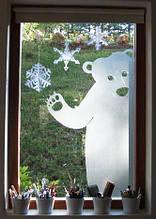 Новогодний декор из пенопласта - елки, снежинки, олени, сани 16