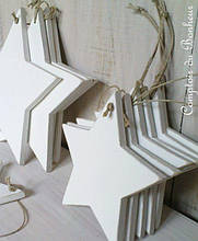 Новогодний декор из пенопласта - елки, снежинки, олени, сани 11