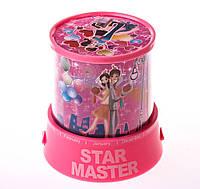 """Стар Мастер, ночник звездное небо """"Сердечки и шарики"""""""
