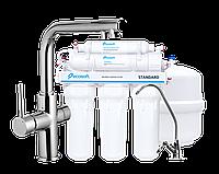 Смеситель для кухни DAICY, Ecosoft Standart система обратного осмоса (5ти ступенчатая)