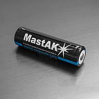 Аккумулятор Li-ion MastAK 18650 2200 mAh  с электр. Samsung