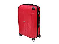 Антиударный пластиковый чемодан большого размера New Line Grypton 5672