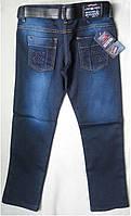 Утепленные детские джинсы на флисе для мальчиков 8-12 лет Турция, фото 1