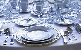 Столовий посуд і предмети сервірування