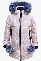 Зимнее пальто  для девочки Марсель(122-152р).