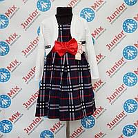 Оптом детское платье двойка для девочек Bolbina