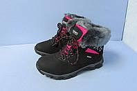 Высокие зимние кроссовки Fashion sport 2417-8 черные код 0808А