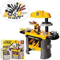 Детский игровой набор инструментов 008-912, верстак 66-30-68см, инструменты, 50дет, в кор-ке, 58-46-13см