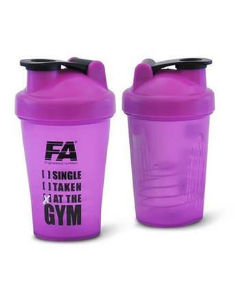 Shaker HQ Fitness Authority 400 ml Purple, фото 2
