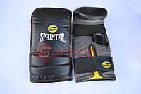 """Снарядные боксерские перчатки """"Everlast"""" чёрные XL"""