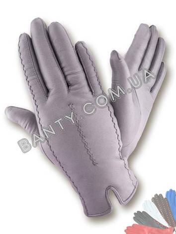 Женские перчатки на шерстяной подкладке модель 287  , фото 2