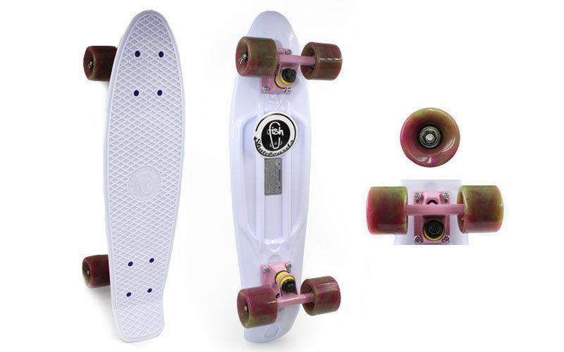 Скейтборд Penny Board SWIRL FISH.  Распродажа! Оптом и в розницу!
