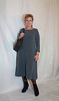 Платье женское миди однотонное шерстяная ангора Сукня жіноча міді багато кольорів