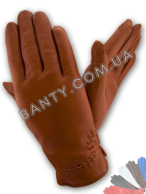 Женские перчатки на шерстяной подкладке модель 369