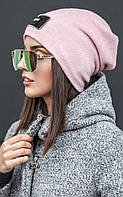 Ангоровая женская шапка много цветов №143