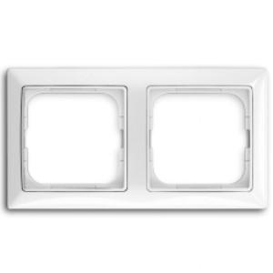 Рамка 2 пост. ABB Basic 55 Белый