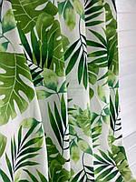 Модные шторы с листьями