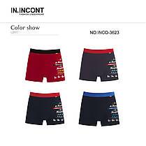 Мужские боксеры стрейчевые марка «IN.INCONT»  Арт.3623, фото 3