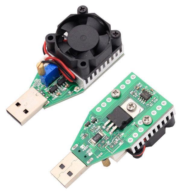 USB разрядка нагрузка 3.7-13 В, 0,15-3 А, 15 Вт