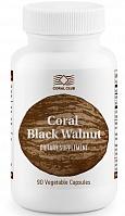 Корал черный орех - Помогает избавить организм от паразитов.