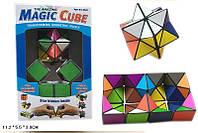 Игра головоломка Магический кубик  0517 цветной, в коробке 11,2*5,5*3 см