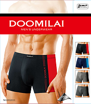"""Мужские боксеры стрейчевые марка """"DOOMILAI"""" Арт.D-02011, фото 2"""