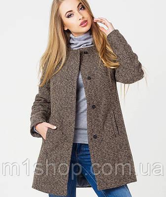 e0894e81aac Зимнее женское драповое пальто (Хелен зима leo) купить недорого Украина -  m1shop - Киев