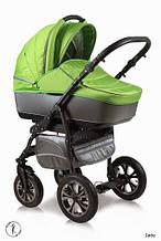 Универсальная коляска Ajax Group Glory Lime серый+салатовый (98/Q1)