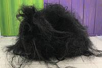 Парик карнавальный черные волосы