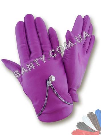 Женские перчатки на шерстяной подкладке модель 444, фото 2