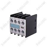 Блок вспомогательных контактов 3RH1911-1FA22 Siemens, 2NO+2NC, фото 2