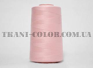 Нитка швейная 40/2 светло-розовая 4000 ярдов