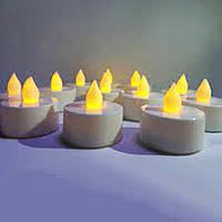 Праздничный Светильник Статуэтка Новогодняя Свеча Мини Набор Свечей для Атмосферы Нового Года Рождества 24 шт
