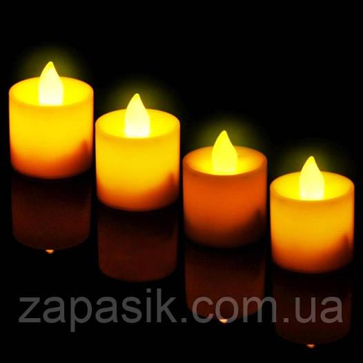 Праздничный Светильник Статуэтка Новогодняя Свеча Набор Свечей для Атмосферы Нового Года Рождества 24 шт