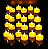 Праздничный Светильник Статуэтка Новогодняя Свеча Набор Свечей для Атмосферы Нового Года Рождества 24 шт, фото 4