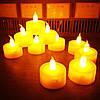 Праздничный Светильник Статуэтка Новогодняя Свеча Набор Свечей для Атмосферы Нового Года Рождества 24 шт, фото 6