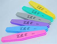 Пилка для шлифовки ногтей YRE PA-25, пилочка для ногтей, пилка для маникюра, пилки для полировки и шлифовки
