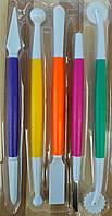 Набор инструментов для мастики из 5