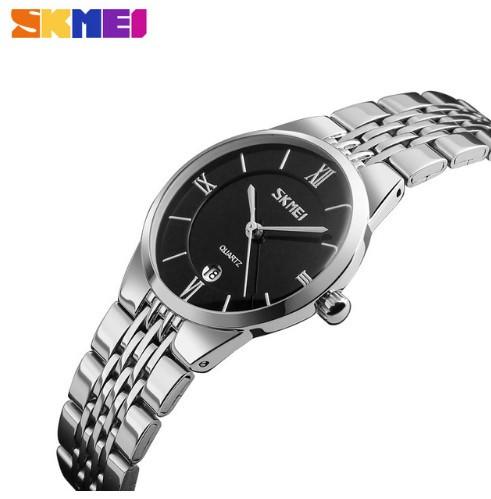 Мужские наручные часы Skmei 9139 серебристый с черным