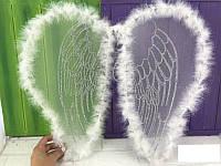 Карнавальные крылья Ангела с пухом