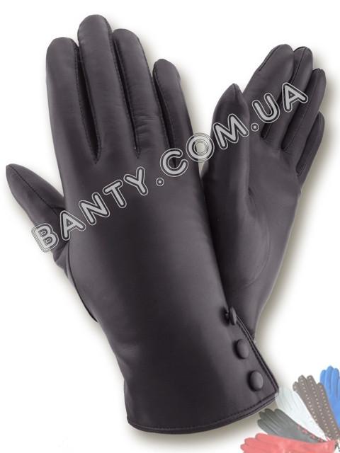 Женские перчатки на меховой подкладке модель 423