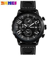 Мужские наручные часы Skmei 9153 черные, фото 1