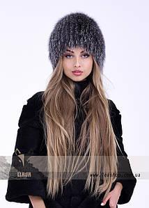 Попеляста жіноча шапка з фінського песця