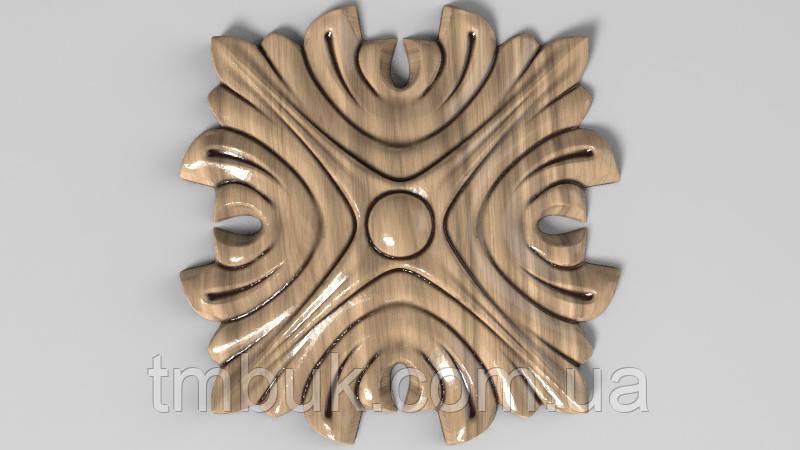Розетка 10 - 60х60 - деревянная