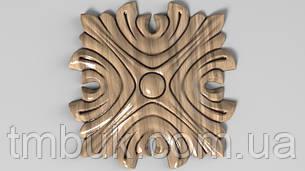 Розетка 10 - 60х60 - деревянная, фото 2
